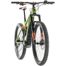 Cube Stereo Hybrid 140 Race 500 Green'n'Orange